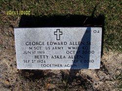 George Edward Allen, Sr