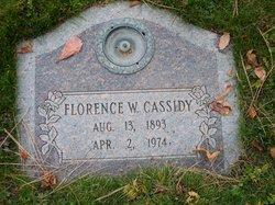 Florence <I>Winder</I> Cassidy
