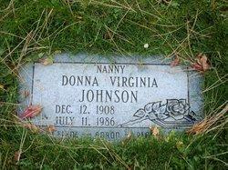 Donna Virginia <I>Hammond</I> Johnson