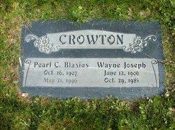 Pearl C <I>Blasius</I> Crowton