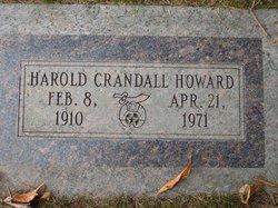 Harold Crandall Howard