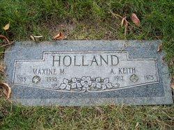 Maxine M Holland
