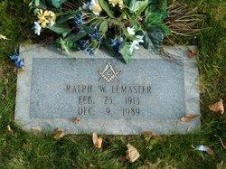 Ralph W LeMaster
