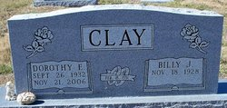 Dorothy E. <I>Saunders</I> Clay