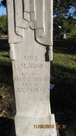 Mrs Louisa <I>Moody</I> Jones