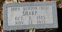 "John Burton ""Bud"" Sharp"