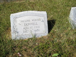 Pauline <I>Wernli</I> Donnell