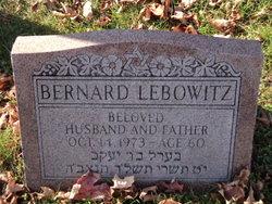 Bernard Lebowitz