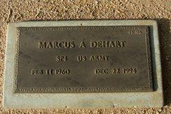 Marcus A Dehart