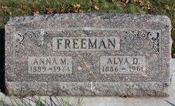 Anna M. <I>Skelley</I> Freeman
