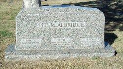 Lee Marion Aldridge