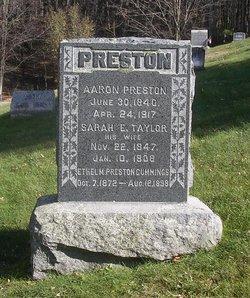 Aaron Preston