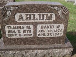 David W Ahlum