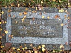 Alice E. Brown