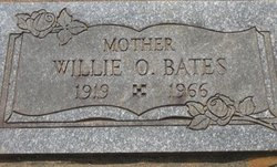 Willie Odet <I>Hester</I> Bates