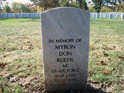 """Myron Don """"Buzz"""" Kuehl"""