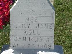 Mary Jane <I>Koll</I> Cormier