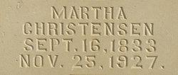 Martha <I>Rareson</I> Christensen