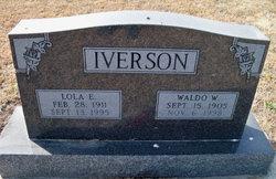 Lola E. <I>Thomazin</I> Iverson