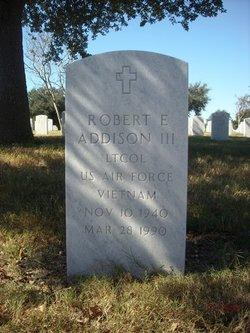 Robert E Addison, III