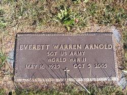 Sgt Everett Warren Arnold