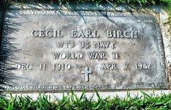Cecil Earl Birch