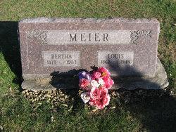 Bertha <I>Meier</I> Meier