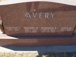 Roderick K Avery