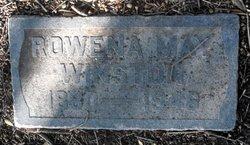 Rowena May <I>Van Horn</I> Winston