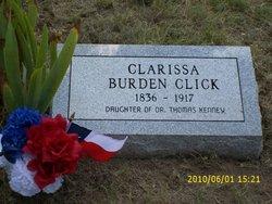 Clarissa <I>Kenney</I> Burden-Click