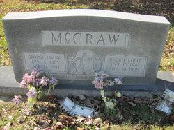 Maggie Jeanette <I>Coble</I> McCraw