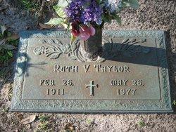Ruth V Taylor
