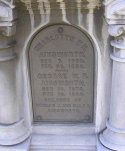 """Charlotte P.H. """"Sharlie"""" Ainsworth"""