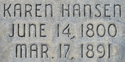 Karen <I>Hansen</I> Sorensen