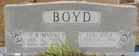 Lou Ella <I>Garner</I> Boyd