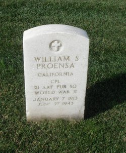 CPL William S Proensa