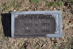 Daston D. Ambrose