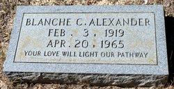 Blanche C Alexander