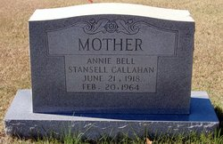 Annie Bell <I>Stansell</I> Callahan