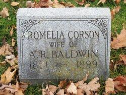 Romelia <I>Corson</I> Baldwin