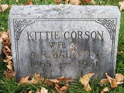 Kittie <I>Corson</I> Baldwin