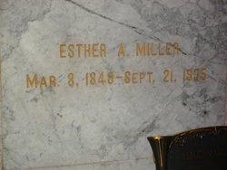 Esther Ann <I>Hunter</I> Miller