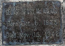 George Henry McFarland