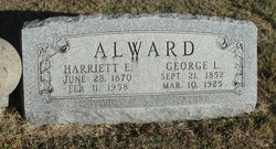 Harriett E. <I>Byrd</I> Alward