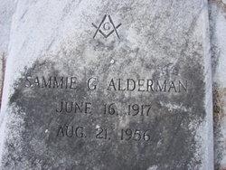 Sammie G. Alderman