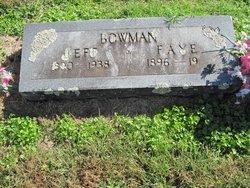 Vera Faye <I>Peden</I> Bowman