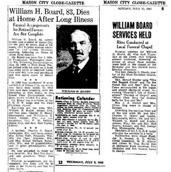 William Halstaff Board