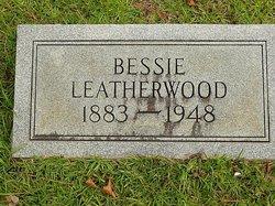Bessie E. <I>Jenkins</I> Leatherwood