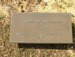 James M Adkison