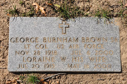 LTC George Burnham Brown, Sr